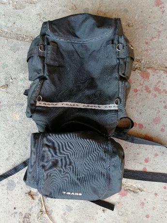 Zestaw plecak + Torba motocyklowa T bags