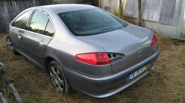 Peças de Peugeot 607