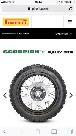 Vendo 2 pneus MOTA novos Pirelli STR