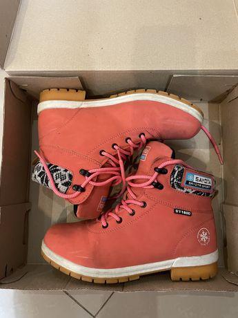 Зимние ботинки, 37 размер, сотояние б/у