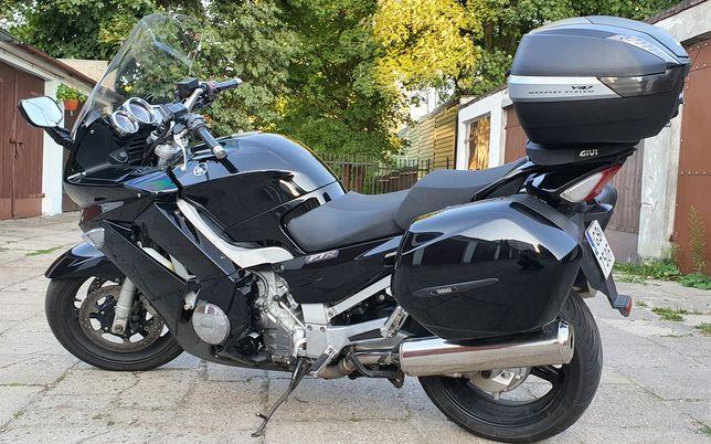 Yamaha FJR 1300 ABS. Trzy kufry. Givi V47