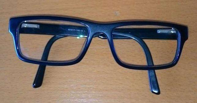 Oculos com armação azul