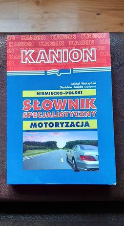 Motoryzacyjny słownik specjalistyczny polsko-niemiecki