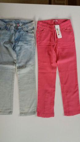 Spodnie 5.10.15  Jeansy NOWE   dla dziewczynki rozmiar 134