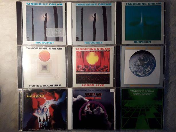 Płyty CD Kompaktowe Klasyka Rocka / Tangerine Dream / Pink Floyd inne!
