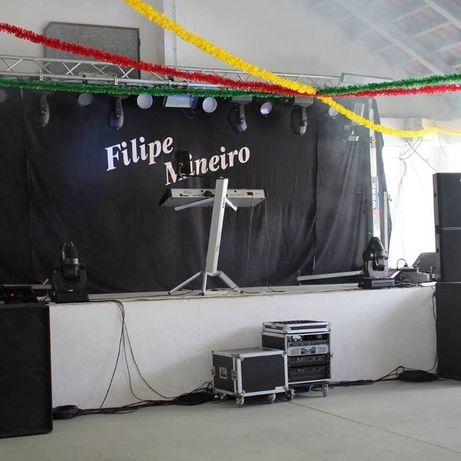 Musica ao Vivo & Aluguer de som/Luz Profissional