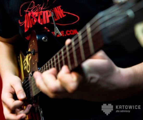 ROCK DISCIPLINE - nauka gry na gitarze, basie - Katowice oraz ONLINE