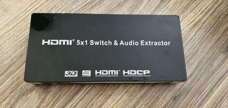 Switch Hdmi 4k 5x1