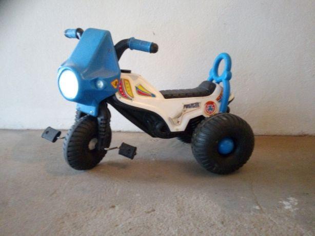 rowerek - motorek policyjny