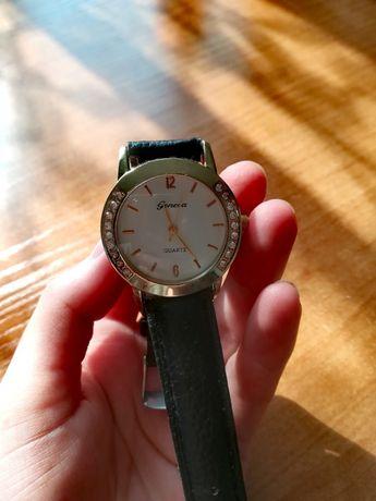 Nowy Zegarek Quartz Geneva damski czarny na rękę