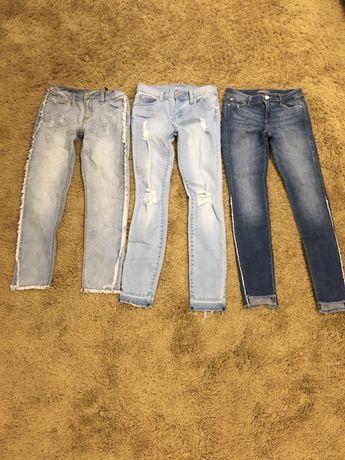 Новые джинсы для девочек 10-14 лет
