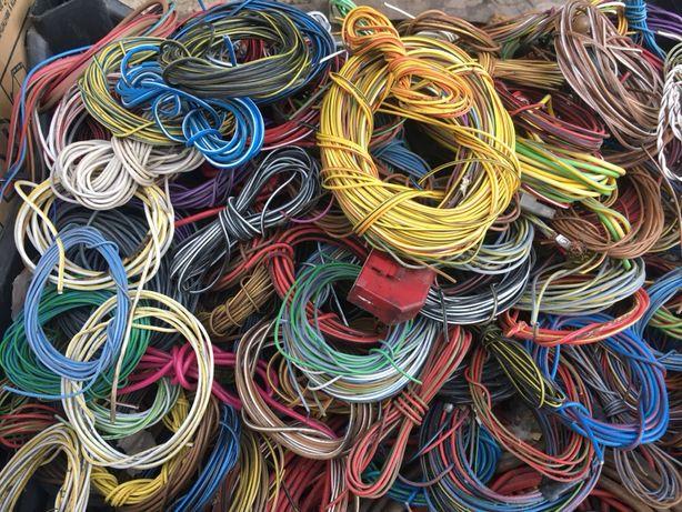 Провод кабель сварочный от 1 грн м или 150 грн кг 30 50 кв в наличии
