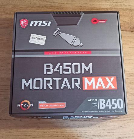 Материнська плата MSI B450M Mortar Max