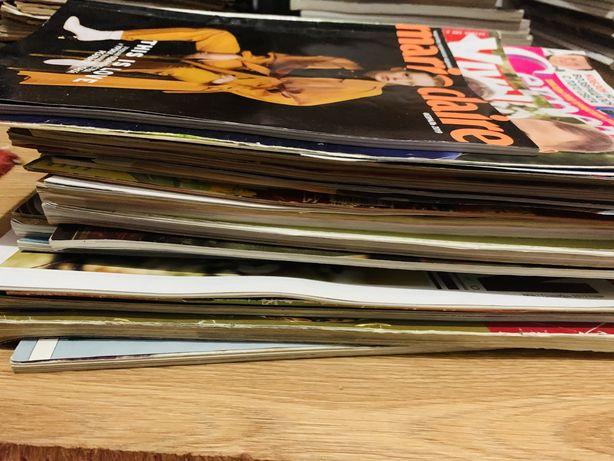 Журнал журналы продам большую стопку журналов для  коллажа коллаж