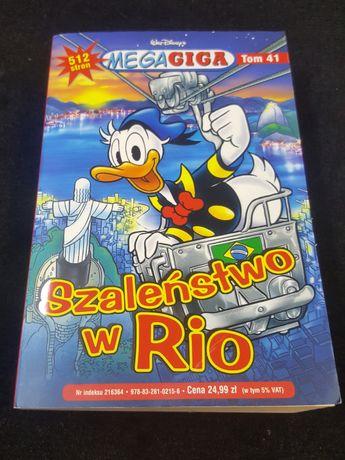 Kaczor Donald Mega Giga tom 41. Komiks