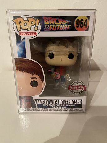 """Funko Pop #964 Back To The Future """"Marty with Hoverboard"""""""