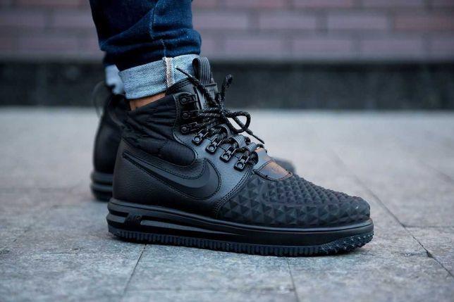 "Зимние кроссовки Nike Air Force 1 Duckboot 17 ""Black"""