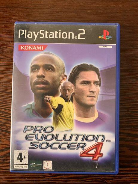 Jogo PS2 - Pro Evolution Soccer 4