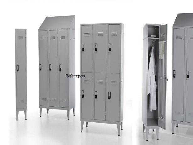 Vestiarios Metalicos Cacifos c/1, 2, 3, 4, 6, 8, 9, 12 e15 Portas Novo