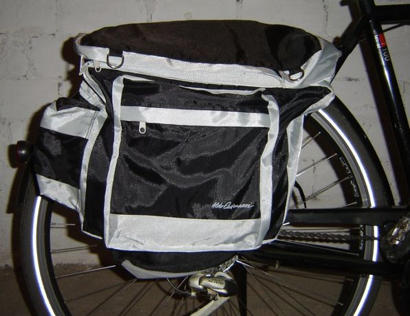 Sakwy , torby na rower