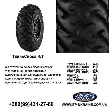 Шина, резина, колеса для квадроцикла ITP TERRA CROSS R/T 25×8-12