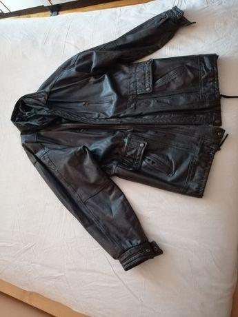 Skórzaną, solidną kurtkę sprzedam