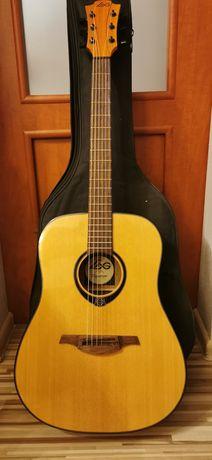 Gitara akustyczna LAG T66D jak nowa