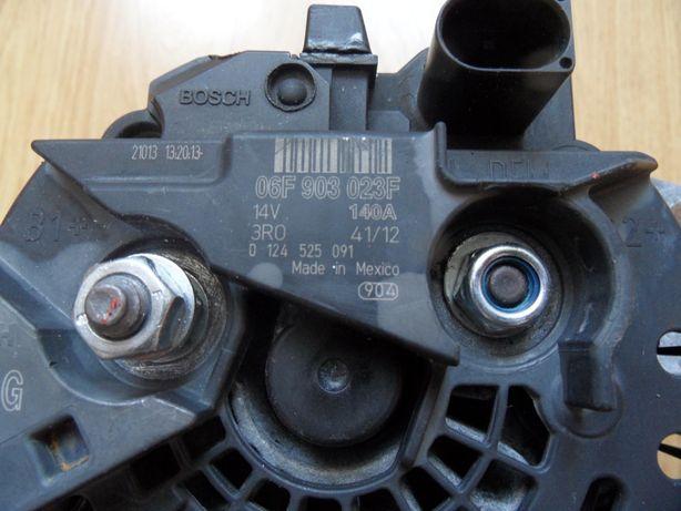 Alternator Bosch VW Audi 140A, oryginalny, zregenerowany 06F 903 023F