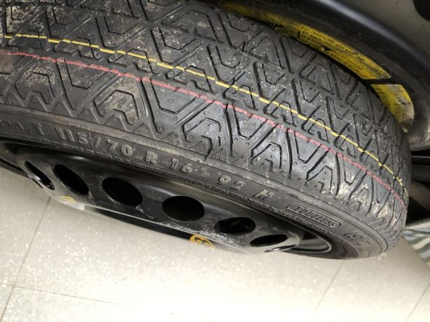 5x110 Jante pneu roda suplente fina Opel Fiat (5x114.3 +5x108 em stock