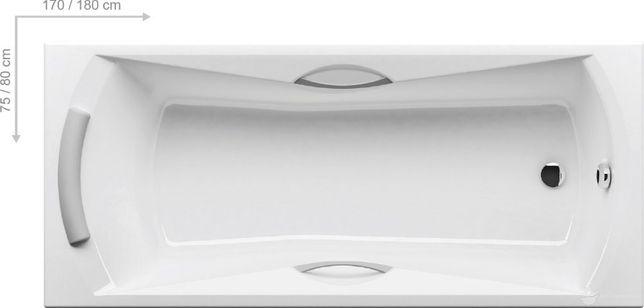 Ванна акриловая RAVAK SONATA (170)