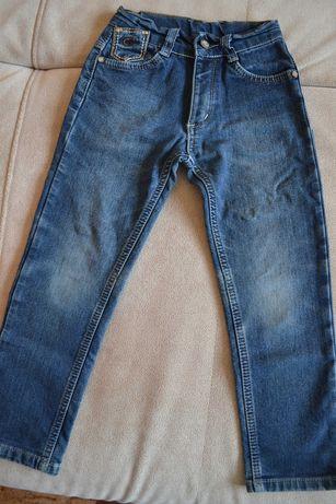 Джинсы утепленные джинсы на флисе 3-5 лет
