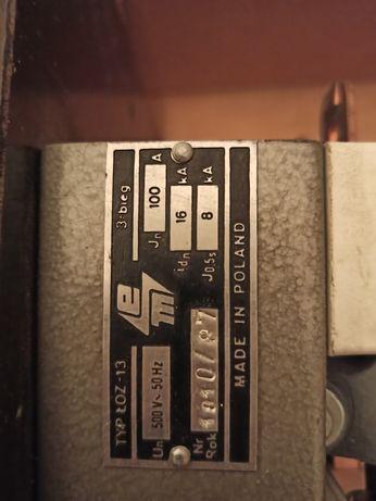 Rozłącznik ŁOZ-13 3x100A wyłacznik odłącznik