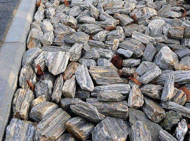 KORA KAMIENNA Kamień Ogrodowy Grys Żwir Gnejsowa Antracytowa Mokotów