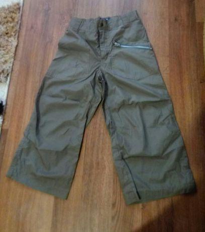 Летние брюки штаны бриджи на мальчика 7-9 лет (на рост 140 см.)