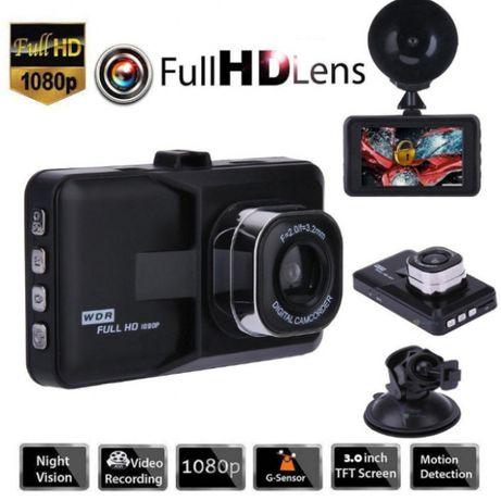 Rejestrator samochodowy z kamerą cofania model 2018 DVR 140 komplet