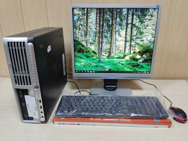 """Компьютер /ПК / Системный блок /C2D 1.9 GHz / ОЗУ 4ГБ + Philips 19"""""""