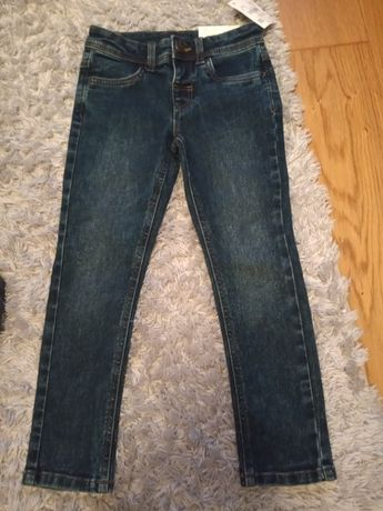 Nowe jeansy unisex rozmiar 116 c&a