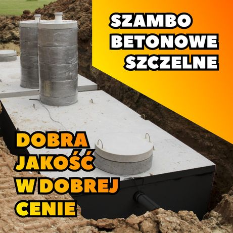 Zbiornik betonowy Szambo betonowe Deszczówka Producent! Atest! Szamba