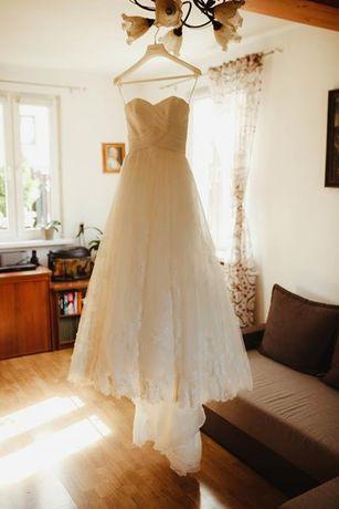 Suknia ślubna Pronovias model Pergola, rozmiar XXS/XS