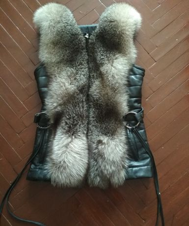 Кожанная куртка 2в одном