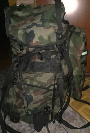 Oryginalny wojskowy plecak - zasobnik piechoty górskiej 987/MON