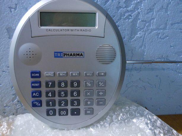 Калькулятор-радио,2 х 1 для продавцов.