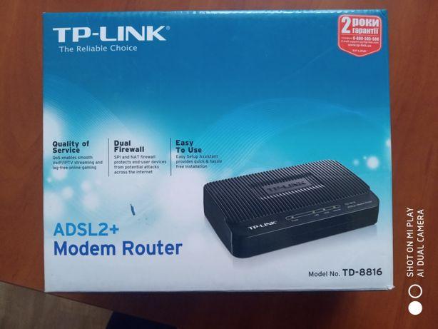 Маршрутизатор со встроенным модемом ADSL2+ TD-8816