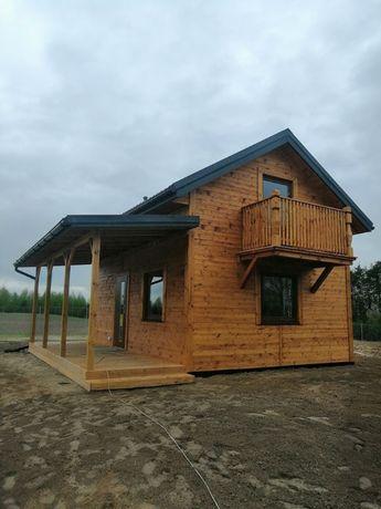 Dom całoroczny drewniany 35m2 Domy szkieletowe Altana Letniskowe