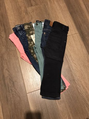 Dżinsy spodnie 92