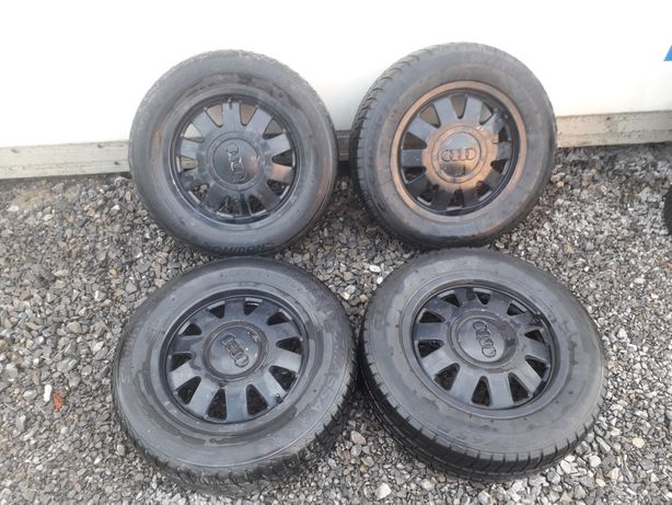 Koła Alufelgi 5x112 Audi VW Skoda Seat 195/65/R15 4/5mm