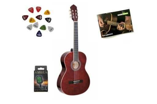 Gitara Klasyczna Ambra Luna 1/2 + Stroik + Darmowa Wysyłka