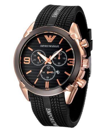 Męski zegarek, firmowy ARMANI, bardzo solidny, mocny pasek, DATOWNIK