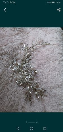 Ozdoba do włosów ślub wesele + 4 wsuwki gratis