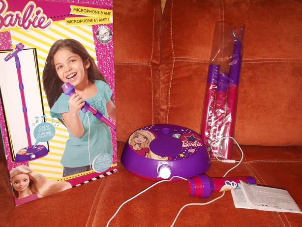 Детский микрофон Barbie, оригинал, состояние нового